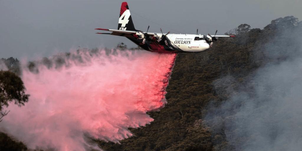 Air Tanker Crashes Australia