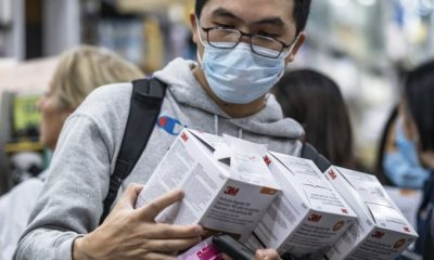 Face masks sold out in china