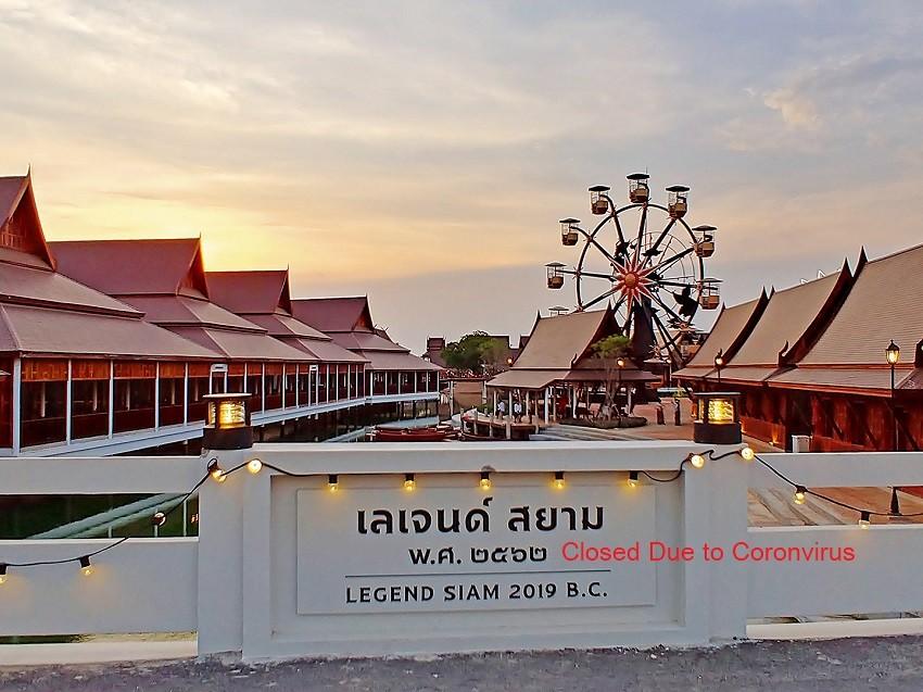 Coronavirus - theme park