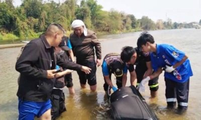chinses man dead in suitcase thailand