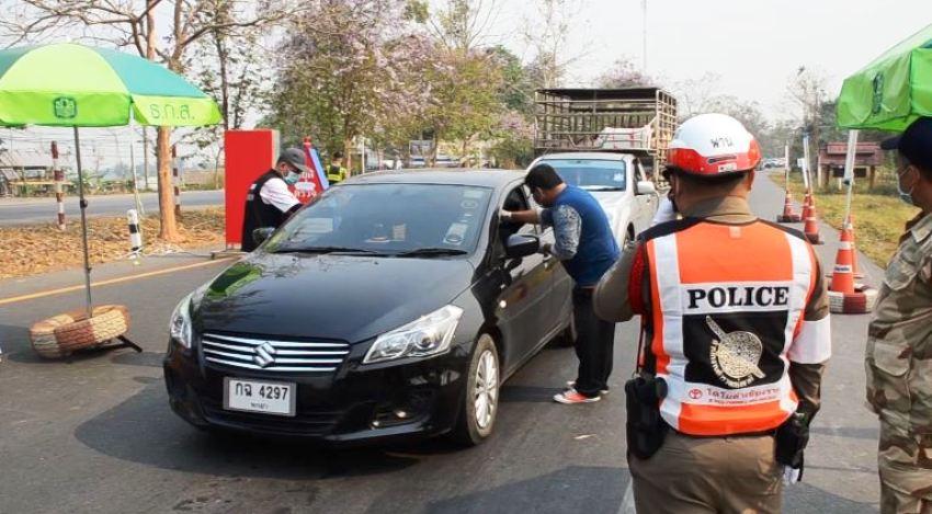 chiang rai lockdown curfew
