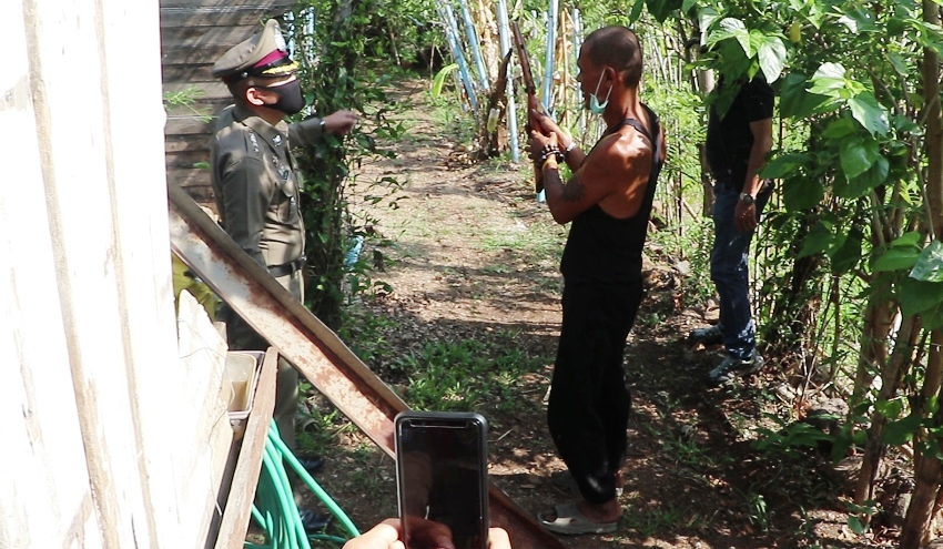 Man arrested in Lampang for killing Buddhist monk